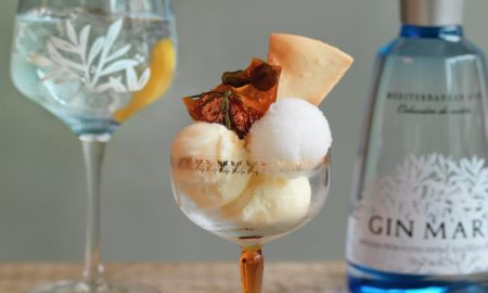 Gin And Tonic Ice Cream