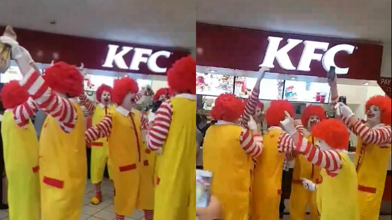 KFC McDonald's