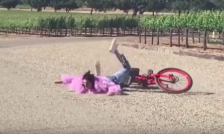 Kendall Jenner wipeout