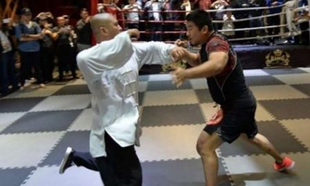 MMA Fighter Tai Chi