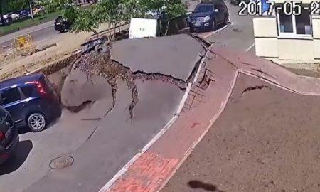 Explosive Eruption Devastates Street