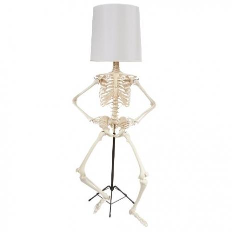 Skeleton Lampshade 3
