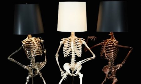 Skeleton Lampshade