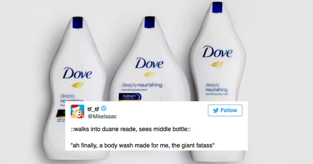 Dove Releases New Body Wash For Body Types, Triggers The Entire Internet