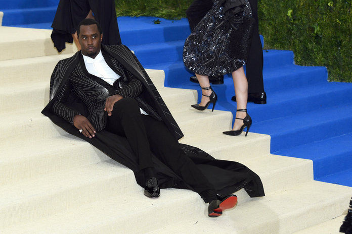 """NEW YORK, NY - MAY 01: Sean """"Diddy"""" Combs aka Puff Daddy attends the """"Rei Kawakubo/Comme des Garcons: Art Of The In-Between"""" Costume Institute Gala at Metropolitan Museum of Art on May 1, 2017 in New York City. (Photo by Dia Dipasupil/Getty Images For Entertainment Weekly)"""