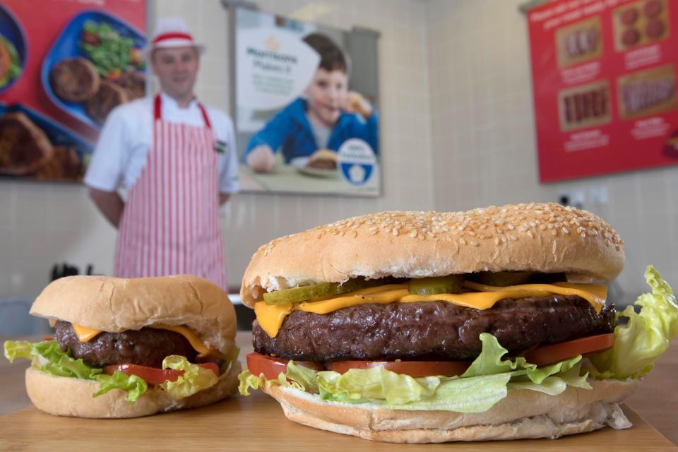 1lb Burger