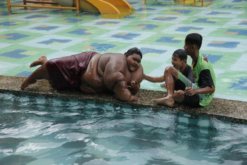 The World's Fattest Kid Loses Five Stone After Life ...