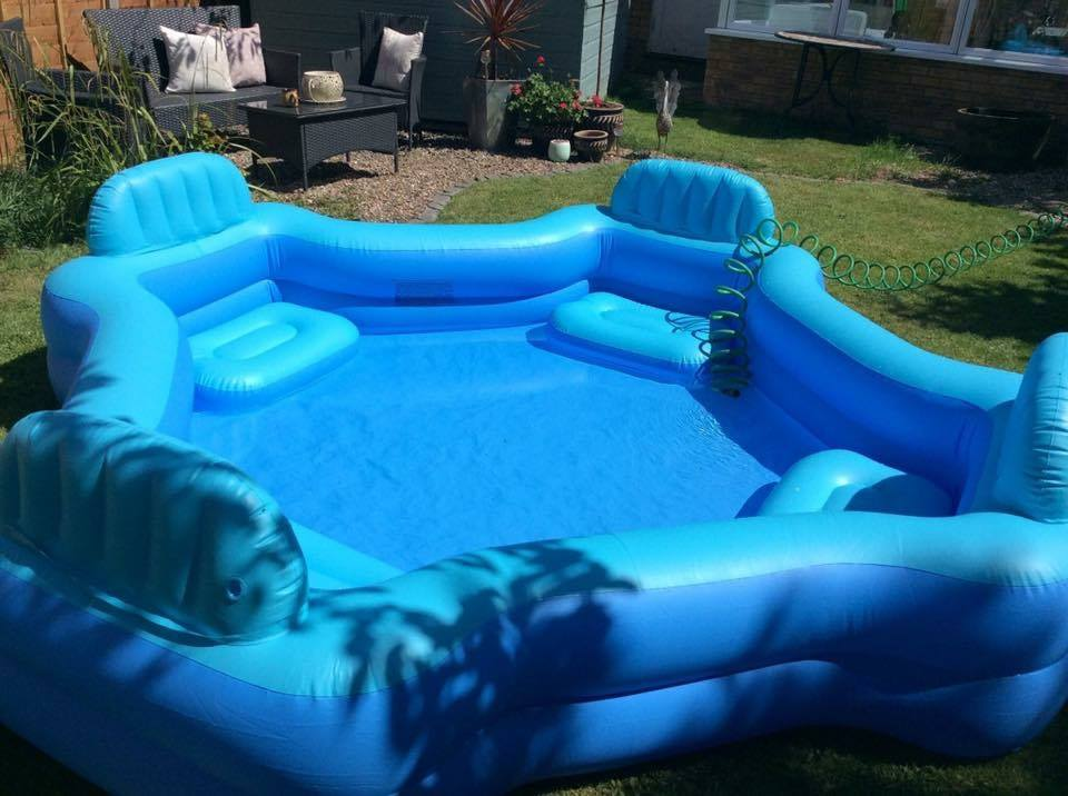 This budget asda pool is the perfect summer hangout for Best children s paddling pool