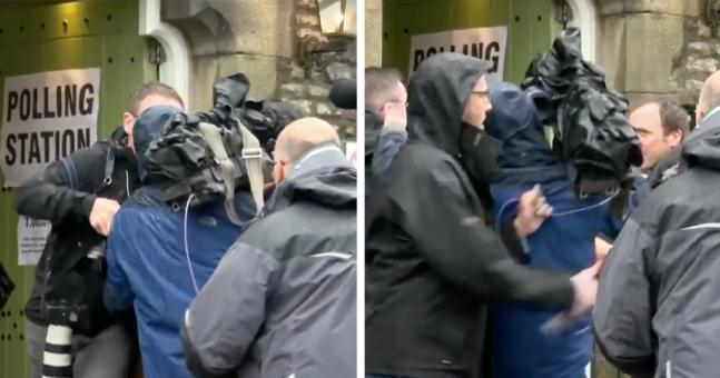 Cameraman Fight