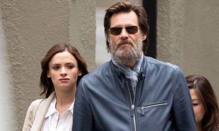 Exclusive... Jim Carrey & Cathriona White Holding Hands In NYC