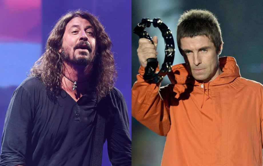 Dave Grohl Liam Gallgher