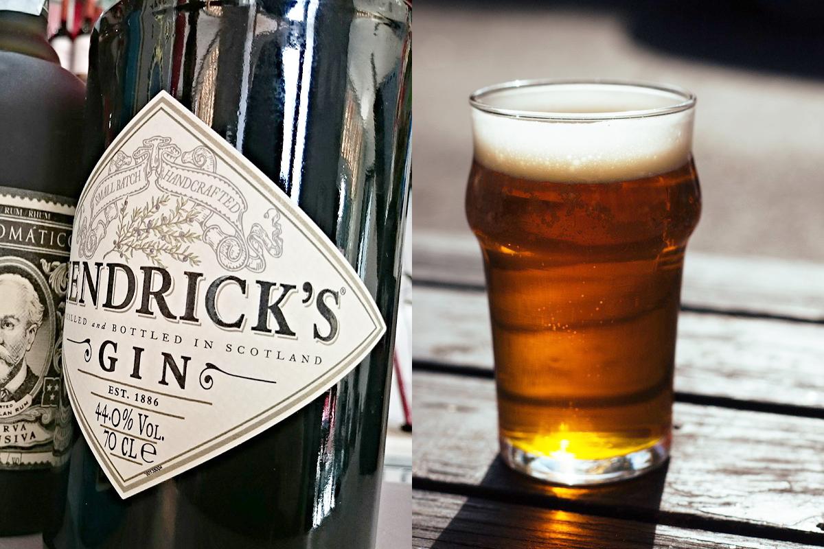 Gin vs beer