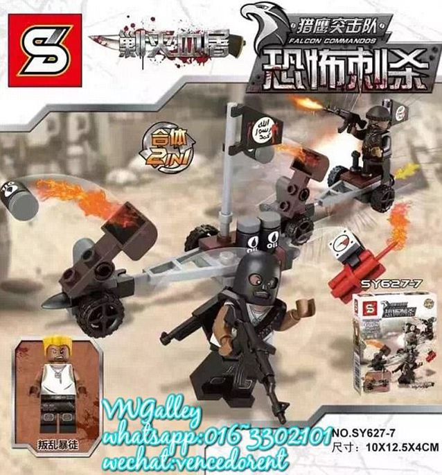 Chinese Toy Manufacturers Are Selling ISIS LEGO Sets – Sick Chirpse