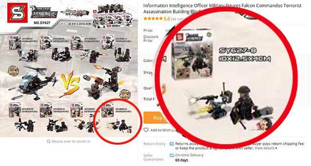 ISIS Lego De