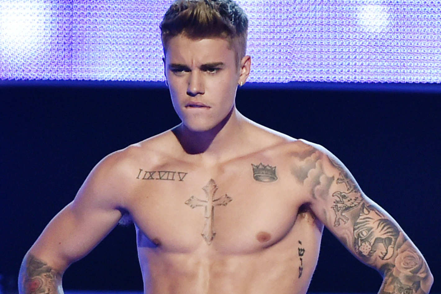 Justin biebr