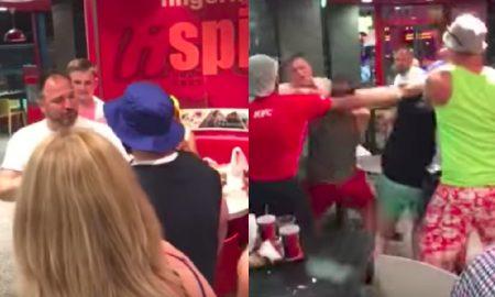 KFC brawl