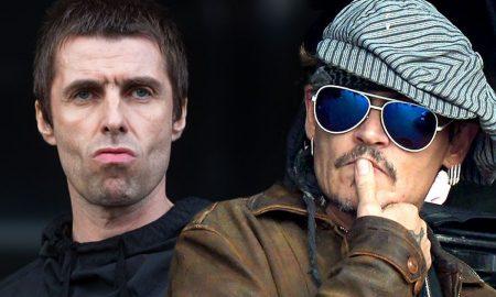 Liam Gallagher Johnny Depp