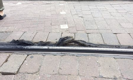 Melting Tramline