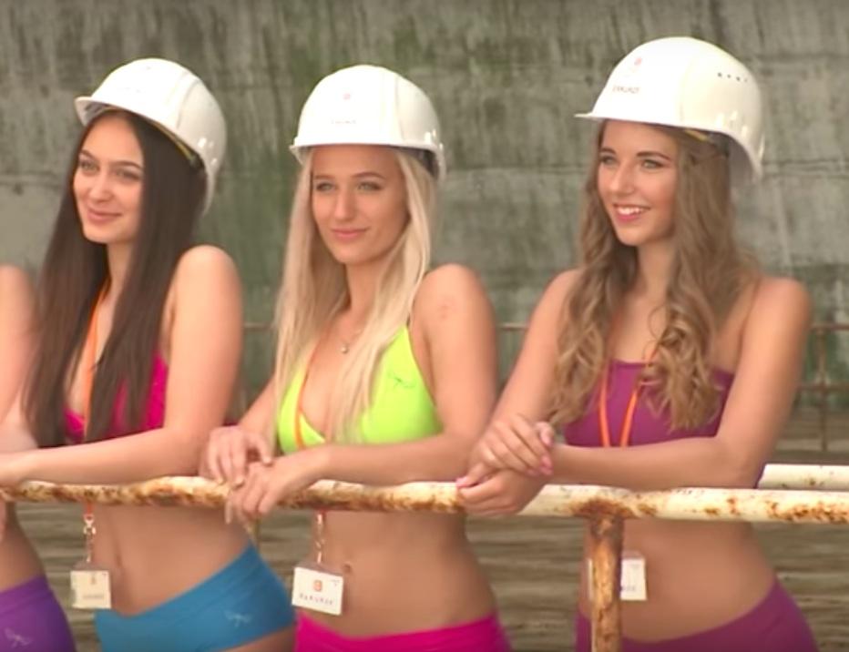 Nuclear bikini competition