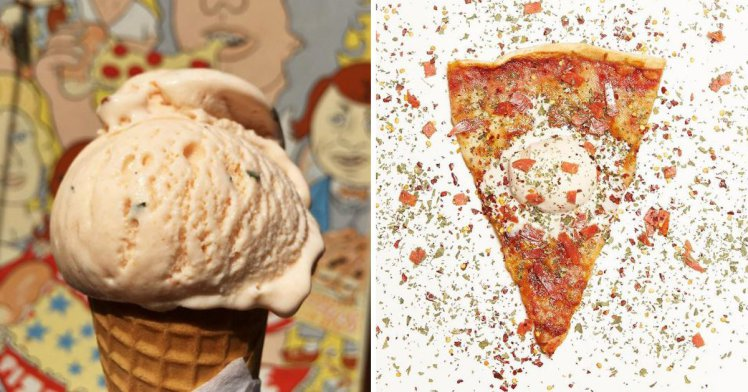 METROGRAB: Pizza-flavoured ice cream now exists