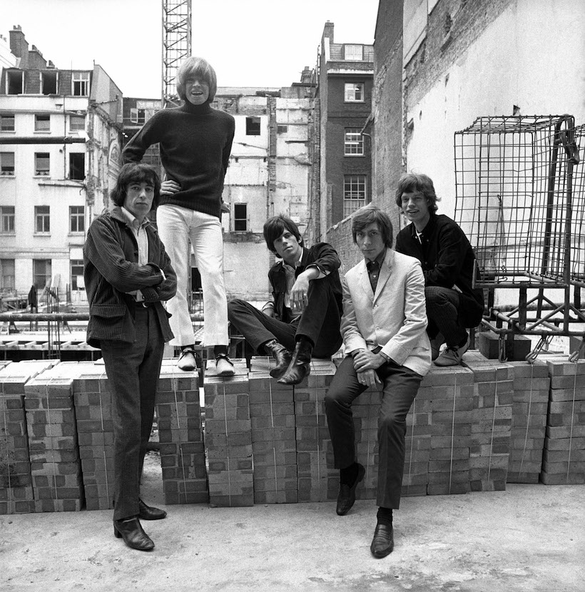 The Rolling Stones - Ormond Yard London 1965