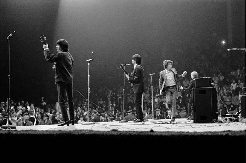 The Rolling Stones on stage USA 1965
