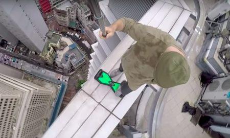 Skyscraper hoverboard