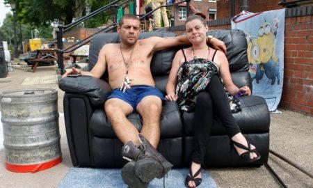 Stuart Potts and Georgina Twemlow