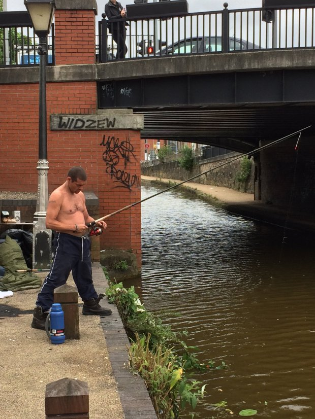 Stuart Potts fishing