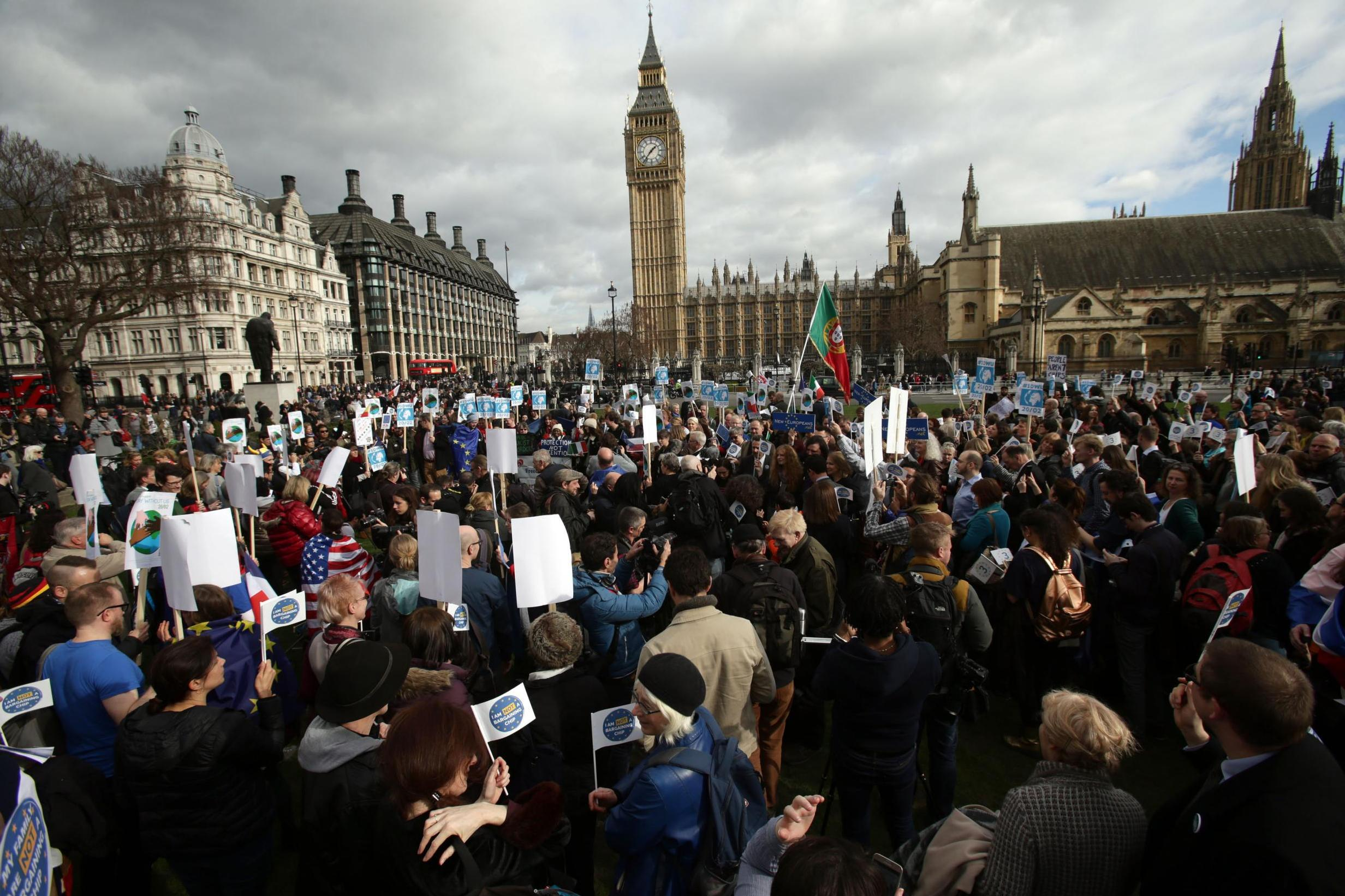 parliament sq protest