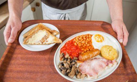 £1 breakfast