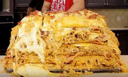 1 million calorie lasagna