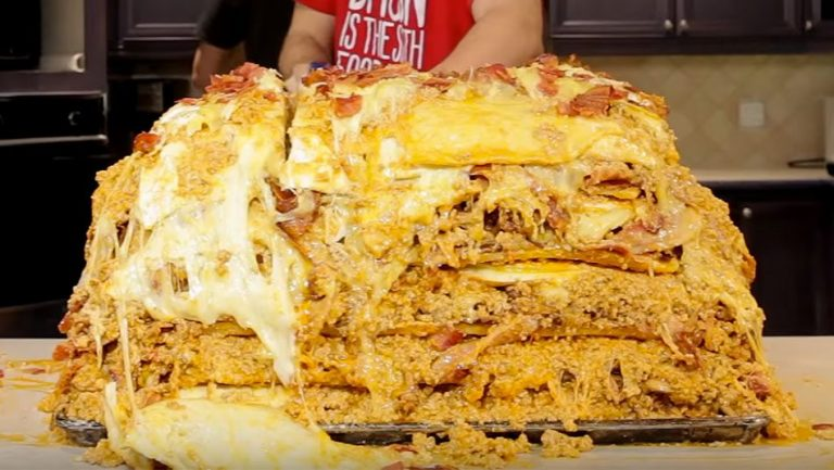 1 million calorie lasagna