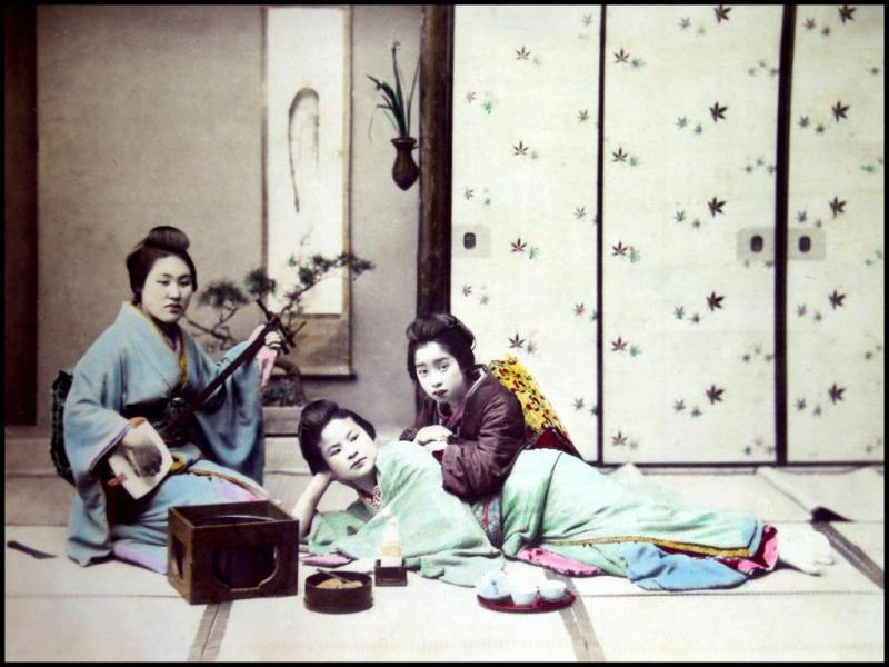Colourised Pictures Japan
