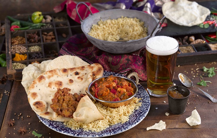Curry and pint