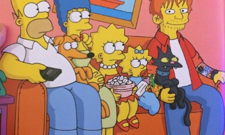 Ed Sheeran Simpsons