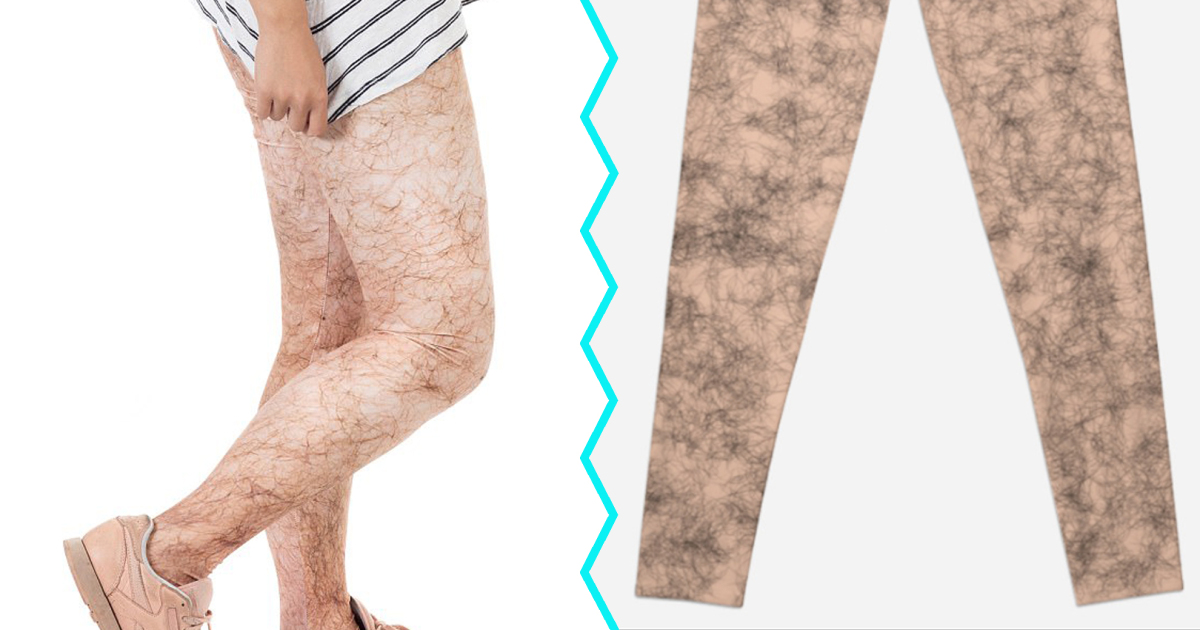 Hairy Leg Leggings
