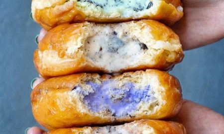Ice Cream Filled DOughnuts