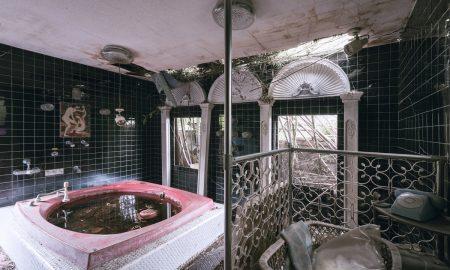 Japan abandoned love hotel