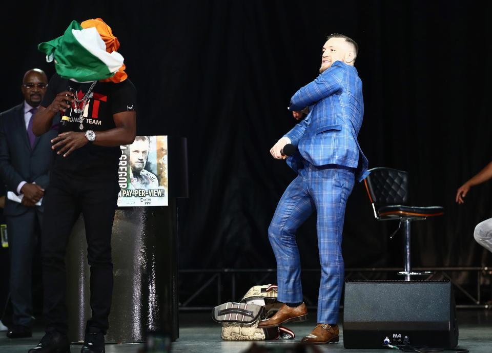 McGregor Mayweather