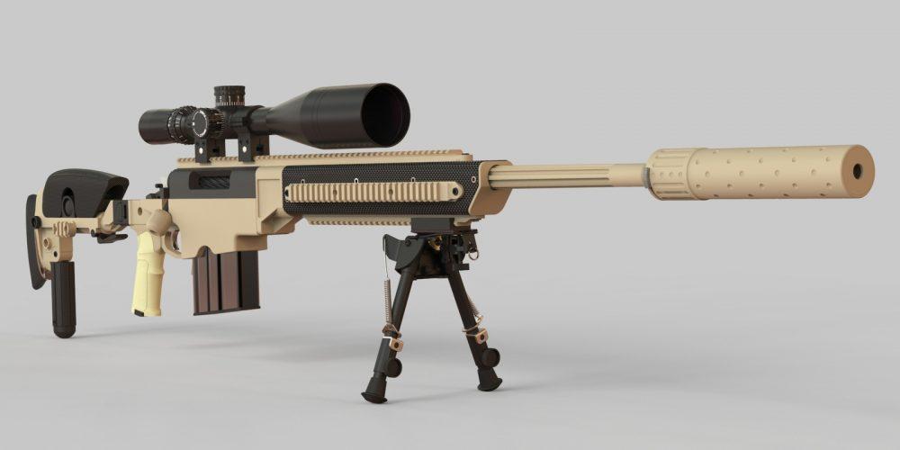McMillan Tac-50 rifle
