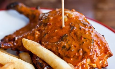 Nandos Quarter Chicken Meal