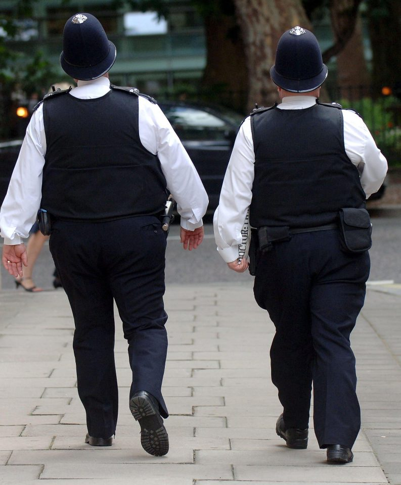 Overweight officers 1