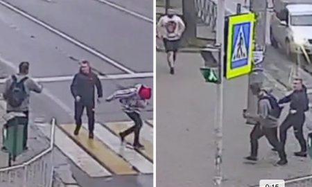 Russian hero takes on gang