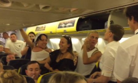 Ryanair hen party