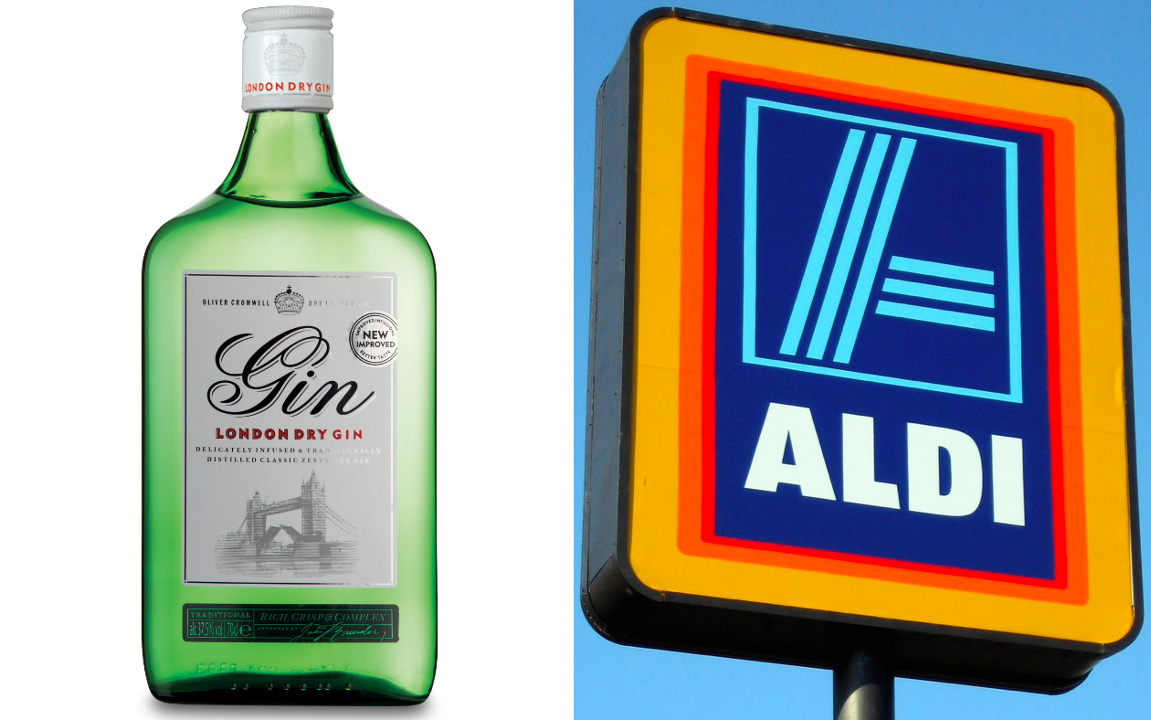 One of the world s best gins is available to buy in aldi for Aldi international cuisine