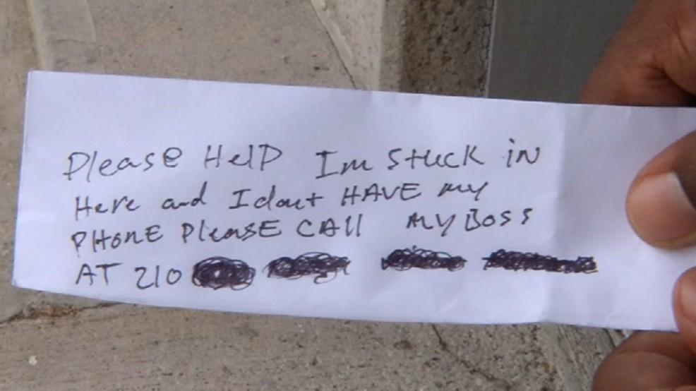 Stuck ATM