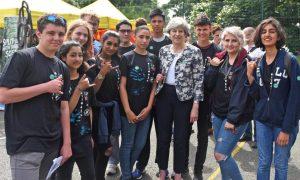 Theresa May kids