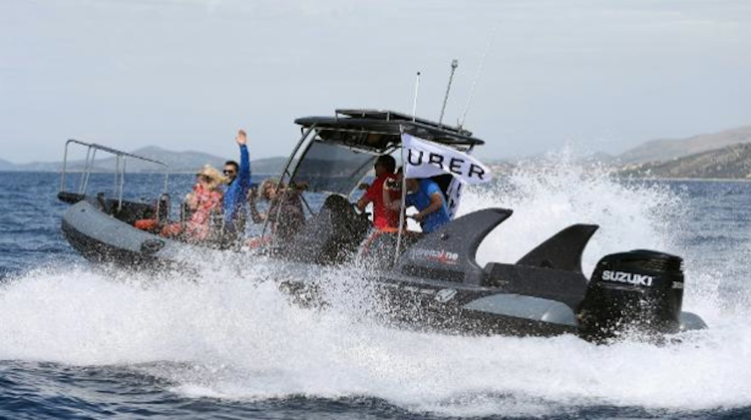 Uber Are Launching A Speedboat Taxi Service Sick Chirpse