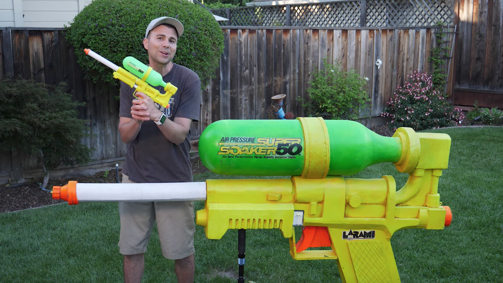 Worlds Largest Super Soaker